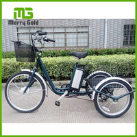 adult aluminum lithium practical electric tricycle with strong power pedal assisted TDN06Z-1416