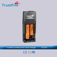 aaa battery charger TrustFire 18650 travel charger, Tr-001 external backup battery charger for AA battery