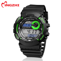 big size men sport digital watch with Japan Movt