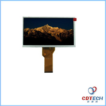 oem 7.0 inch bar tft lcd display screen module with wide viewing angel