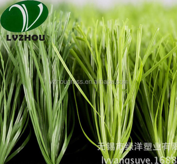 synthetic grass for soccer fields CPG50D-8800D dark green and light green