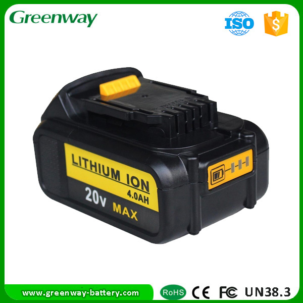 20V power tool batteries for Dewalt DCB200