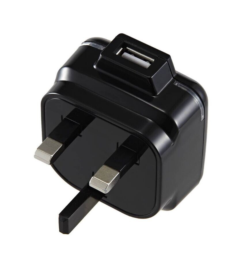 high quality 3 pin uk usb wall charger with LED for iphone / ipad / samsung Galaxy & note