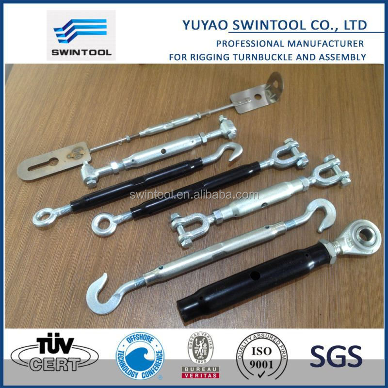 Linkage solution- Jaws clevis eyes hooks Turnbuckle ODM design