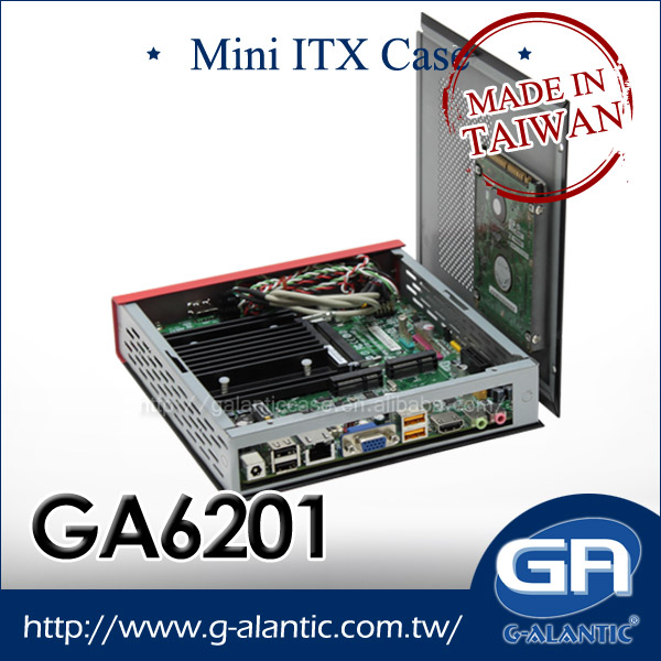 Low Profile Computer Case mini itx thin client- GA6201