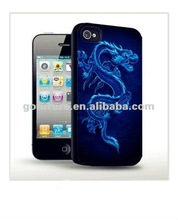 China Dragon graphic pattern mobilel phone case for iphone 4 case