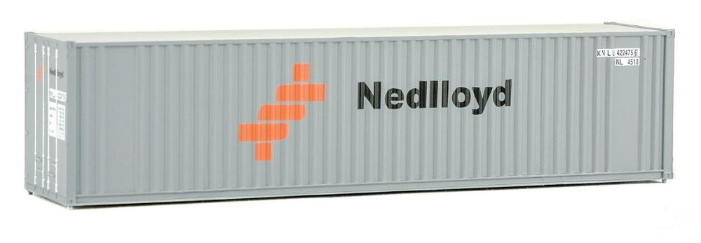 container models 40ft in scale 1:87 plastic model