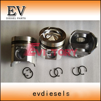 3116 piston ring cylinder liner sleeve kit fit for caterpillar diesel engine