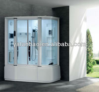 Hot sale Shower cabin shower room with TV bathrom with outdoor bathtub G155