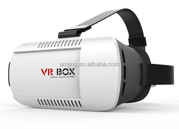Factory price google cardboard vr headset box 2.0