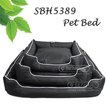 Oxford fabric non slip pet dog beds high quality