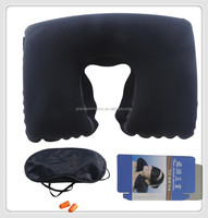 Travel kits manufacture direct supply PVC Pillow airline travel kit