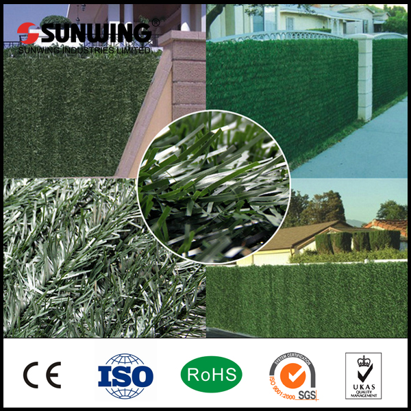 christmas fences decoration plastic garden bamboo hedges