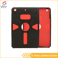 China Supplier 2-in-1 tpu pc Protective tablet cover for ipad mini 2, for iPad 2 case shockproof