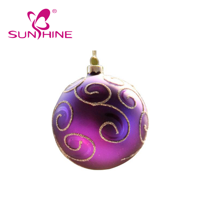 Christmas Balls Ornaments Shatterproof Gold Xmas Trees Wedding Parties Mini Tree Decorations
