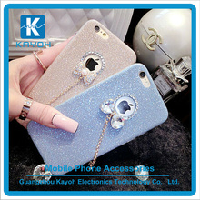 [kayoh] Gorgeous Bling Crystal Diamond Bow Case For iPhone 6 Hard Back Cover