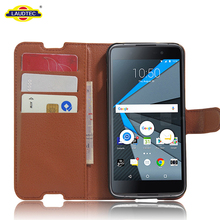 Litchi Leather Phone Case For Blackberry Dtek50 Phone Accessories