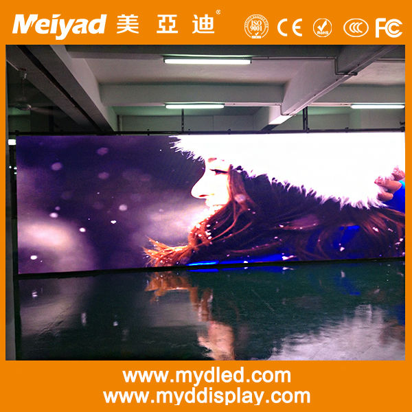 Cheap price low rate high quality ali led display full xxx vedio/p6mm x