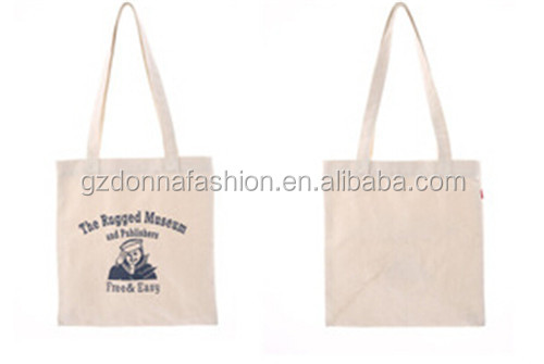 New Arrival Wholesale Custom Cotton Canvas DNBG3SB0046 Tote Bags