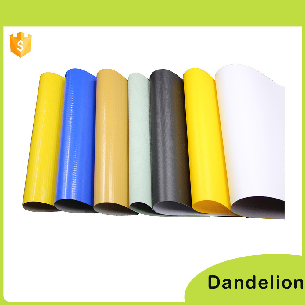 UV waterproof laminated woven pvc fabric poly bache tarpaulin