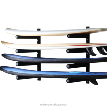 Hold 8 board vertical steel fram surfboard storage rack with screws and the hardwares rack