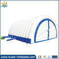 factory price Huale inflatable giant inflatable tent with Plato PVC tarpaulin, inflatable event tent for advertising