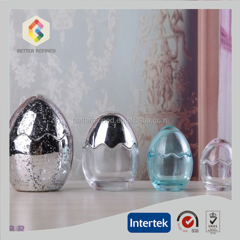 Egg Shaped Unique Glass Food Container