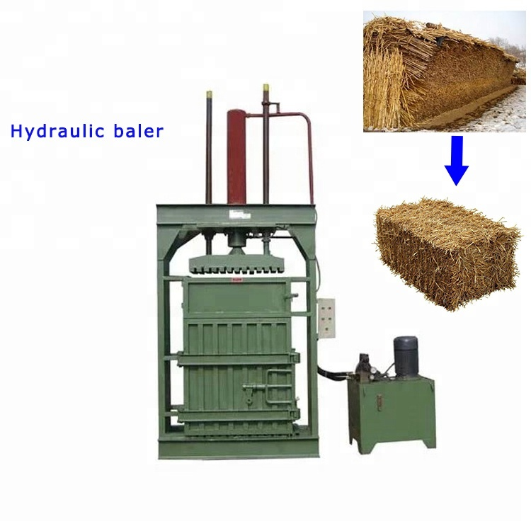 Low price vertical hydraulic baler beverage bottle nylon orange bar baler