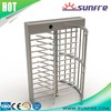Electrical controlled rotate pedestrian gate