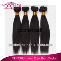 Wholesale cheap kinky straight natural color brazilian hair