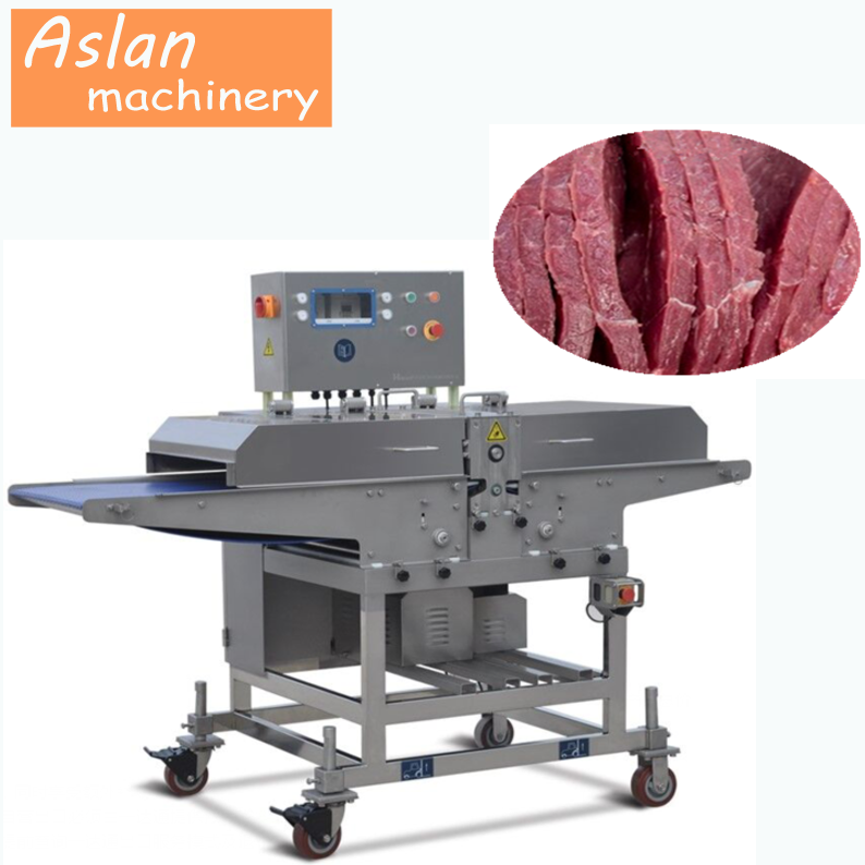 meat strips cutting machine/jerky strips cutter/beef jerky cutting machine