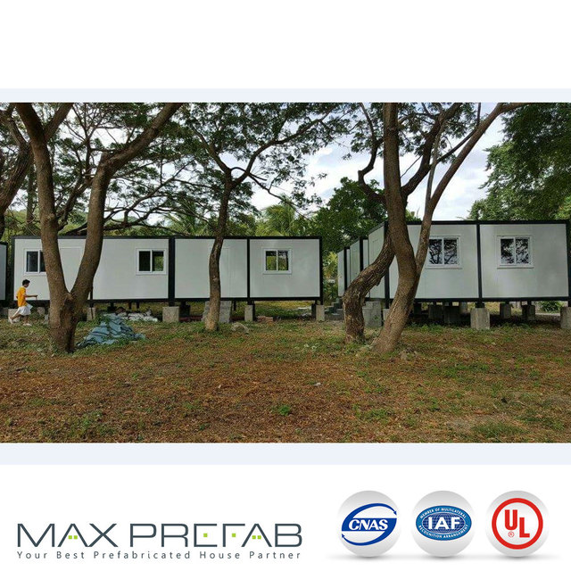 4 man accommodation container house villa resort for sale