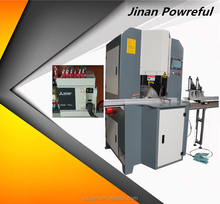 JInan Powerful Automatic hard wood Double Head Mitre Saw Angle Saw Cutting Machines