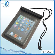 PVC Waterproof Bag For iPad Mini & for Similiar Size Tablet