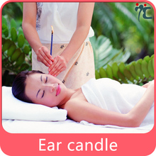 trumpet ear candle for beauty salon