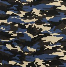 32/2*16 94*48 TC POLY COTTON CANVAS BLUE MILITARY CAMOUFLAGE FABRIC
