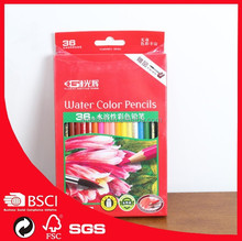36 water colored pencils oem for professional artist