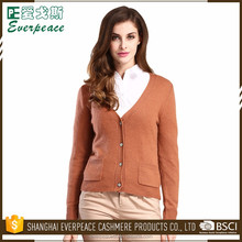 High quality knit wool cardigan for women sweater
