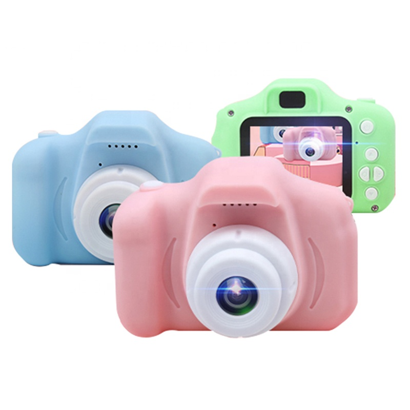 Barato 720P 2 Polegadas Criança Brinquedos Cam Crianças Kids Câmera Digital Câmera De Vídeo com Design Ergonômico - ANKUX Tech Co., Ltd
