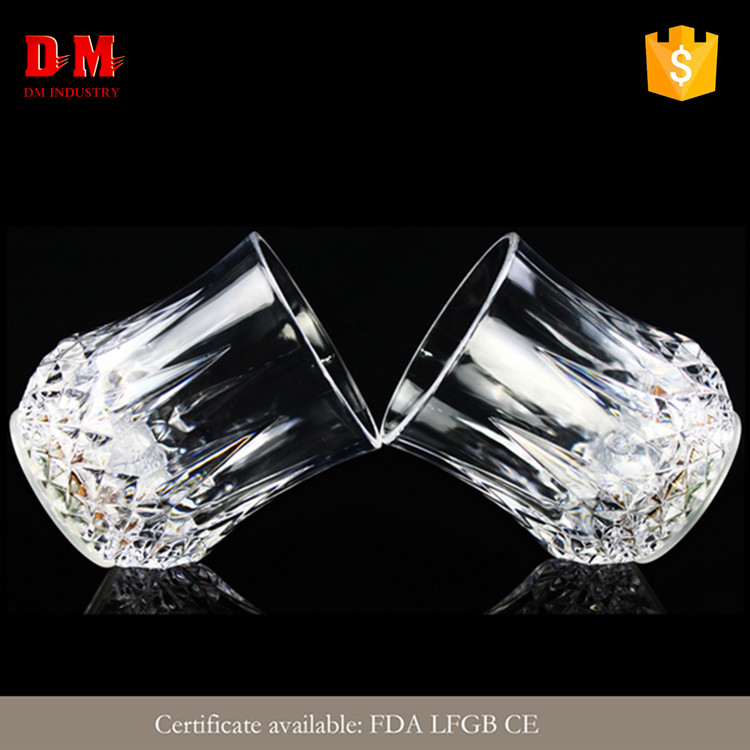 Oval factory price wholesale led glow glass