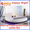 6821 Golden Furniture king size round bed with led light