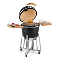 Outdoor Barbecue Kitchen Smokeless Charcoal Meat BBQ Smoker Grill