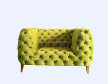 Arabian popular tufted velvet sofa Middle east living room <strong>modern</strong> chesterfield sofa