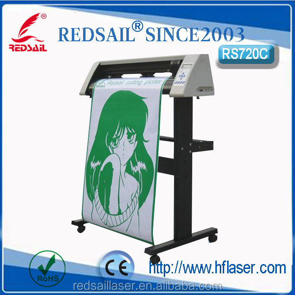 Redsail RS720C cutting plotter drawing speed fast / knife pressure can be adjusted