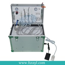 XS factory produce portable dental unit with air compressor