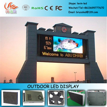 RGX G144 Building wall mounted advertising outdoor P6 led display/outdoor led curved screen