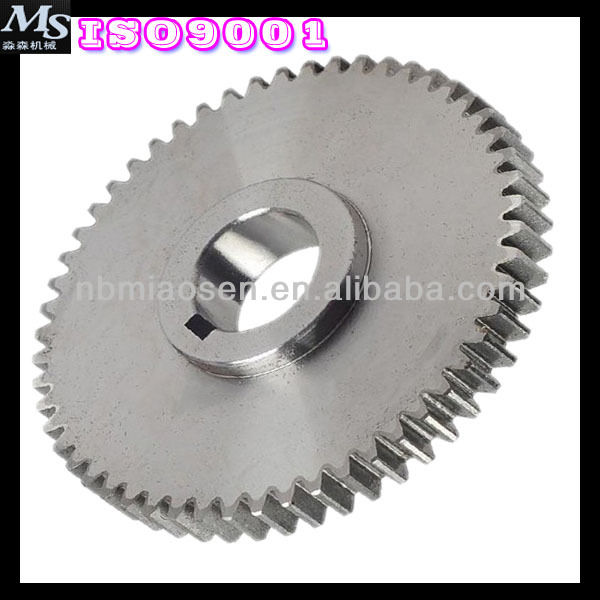 carbon steel small metal spur gear