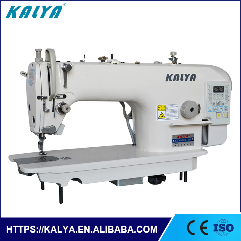 KLY9800-D3 Juki type Industrial flat lock sewing machine usha and price