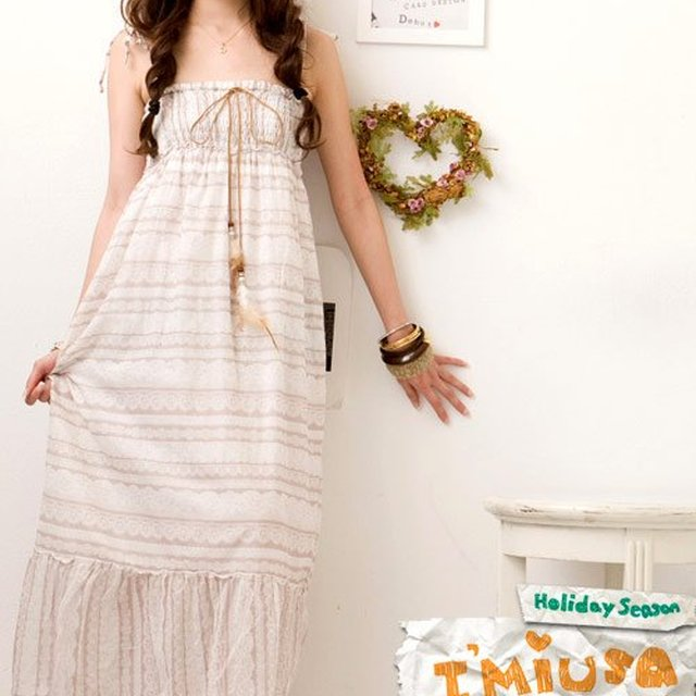 wholesale korean fashion long dress