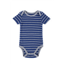 Custom Bulk Carters Baby Rompers 100 Cotton Short Sleeve Plain Stripe Printed Wholesale Infant Clothes